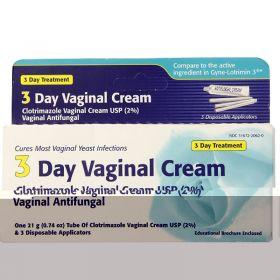 3 Day Vaginal Cream - Clotrimazole Vaginal Cream USP (2%)