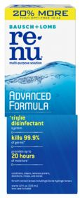 Bausch + Lomb - re-nu - Advanced Formula Multi-Purpose Solution