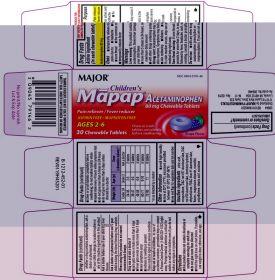 Children's Mapap Acetaminophen - 80mg each