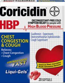 Coricidin HBP - Cough & Cold