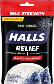 Extra Strong Menthol Flavor Drops