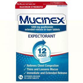 Mucinex - 12 Hour - Maximum Strength