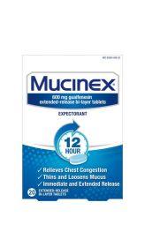 Mucinex - 12 Hour