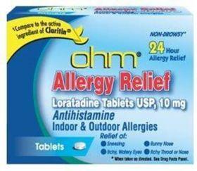 ohm - Allergy Relief - Loratadine 10mg