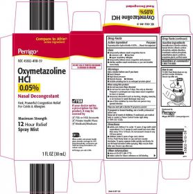 Oxymetazoline HCL