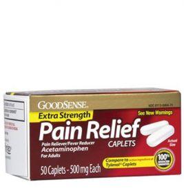 Pain Relief Caplets