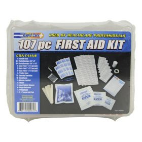 Rapid Care - 107 Piece First Aid Kit