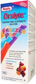 Oralyte Fruit Flavored Freezer Pop