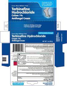 Terbinafine Hydrochloride Cream 1% - Antifungal Cream