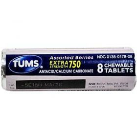 Tums Extra Strength 750 Assorted Berries