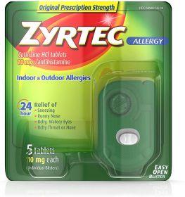 Zyrtec Allergy - Cetirizine HCL 10mg